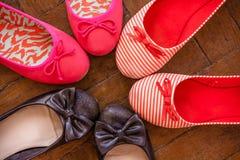 Shoes set Stock Photos