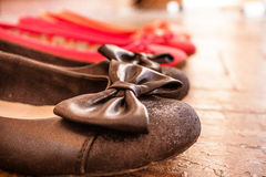 Shoes set Royalty Free Stock Images