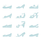 Shoes set Stock Photography