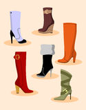 Shoes Set Stock Images