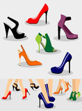 Shoes Set Stock Photo