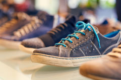 Shoes shop - collection Royalty Free Stock Photo