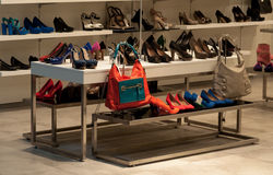 Shoes shop Royalty Free Stock Images