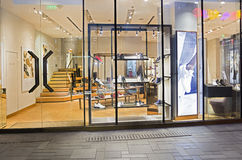 A SHOES SHOP Royalty Free Stock Photography