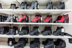 Shoes shop Stock Image