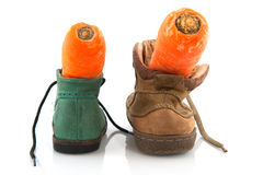 Shoes for Sinterklaas Royalty Free Stock Image