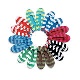 Shoes, sock slippers Royalty Free Stock Photography