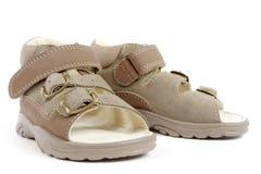 shoes sommar Arkivbilder