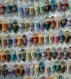 Shoes souvenir tunisia. Little shoes souvenir tunis tunisia africa royalty free stock image