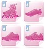 shoes sporten Arkivfoto