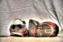 shoes sporten Royaltyfri Fotografi