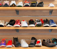 shoes sporten Royaltyfria Bilder
