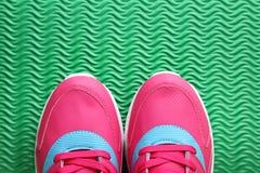 shoes sporten Royaltyfri Bild