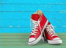 Shoes. Sports Shoe Canvas Shoe Converse Isolated Canvas Sport Royalty Free Stock Image