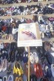 Shoes symbolizing victims of gun violence, Washington D.C. Royalty Free Stock Image