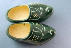 shoes trä Royaltyfria Foton