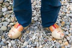 shoes trä royaltyfri fotografi