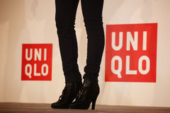 Shoes of UNIQLO Royalty Free Stock Photo