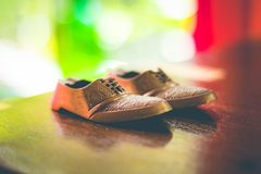 Shoes for walking stock photo