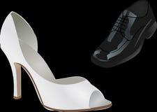 Shoes, Wedding, Stiletto Stock Photography