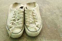 shoes white Arkivbilder