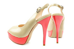 Shoes. On white background Royalty Free Stock Photos