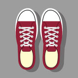 Shoes for woman design. Illustration eps10 graphic Royalty Free Stock Images
