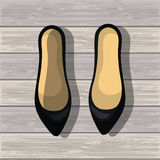 Shoes for woman design. Illustration eps10 graphic Stock Photography