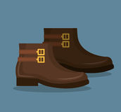 Shoes for woman design. Illustration eps10 graphic Royalty Free Stock Image