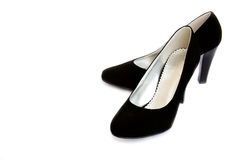 shoes womanish Arkivbild