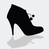 Shoes for women with details Royalty Free Stock Photography
