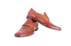 Shoes for a young man Royalty Free Stock Photos