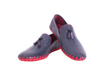 Shoes for a young man Royalty Free Stock Photography