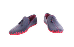 Shoes for a young man Royalty Free Stock Images
