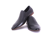 Shoes for a young man Royalty Free Stock Photo