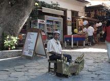 Shoeshine mężczyzna w Turcja Fotografia Royalty Free