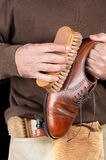 Shoeshiner Royalty Free Stock Images