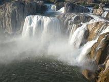 Shoeshone-Fall-Wasserfall lizenzfreie stockbilder