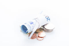 Shoestring budget concept Royalty Free Stock Photo