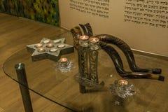 Shofar vakantie synagoge judaism royalty-vrije stock afbeelding