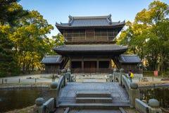 Shofukuji świątynia w Hakacie, Fukuoka, Japonia fotografia royalty free