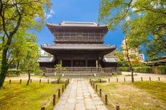 Shofukuji Zen Temple en Fukuoka, Japón Foto de archivo