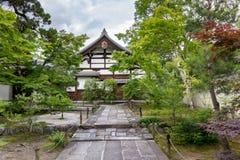 Shoganji寺庙,京都,日本 免版税库存照片