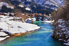 Shogawa River Royalty Free Stock Photography