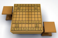 Shogi Board Stock Photography