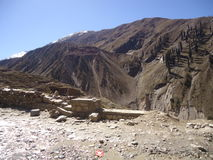 Shogran hill station pakistan royalty free stock photo