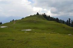 Shogran pakistan della cima di Makra Immagini Stock