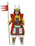 shogun Stockfoto