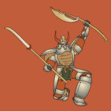 Shogun  illustration Stock Photos
