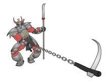 Shogun illustration Stock Images
